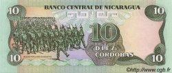 10 Cordobas NICARAGUA  1988 P.151 NEUF