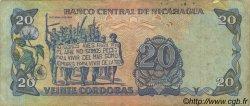 20 Cordobas NICARAGUA  1988 P.152 TB