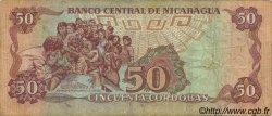 50 Cordobas NICARAGUA  1988 P.153 TB