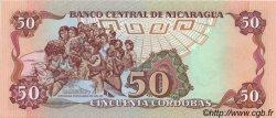 50 Cordobas NICARAGUA  1988 P.153 NEUF