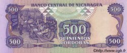 500 Cordobas NICARAGUA  1988 P.155 SPL