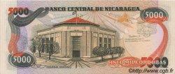 5000 Cordobas NICARAGUA  1988 P.157 NEUF