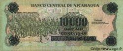 10000 Cordobas sur 10 Cordobas NICARAGUA  1989 P.158 TTB