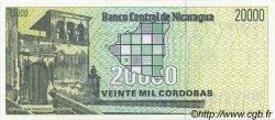 20000 Cordobas NICARAGUA  1989 P.160 NEUF