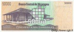 50000 Cordobas NICARAGUA  1989 P.161 NEUF