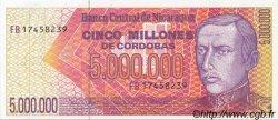 5000000 Cordobas NICARAGUA  1990 P.165 NEUF