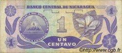 1 Centavo NICARAGUA  1991 P.167 TTB