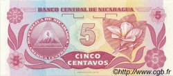 5 Centavos NICARAGUA  1991 P.168a NEUF