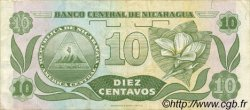 10 Centavos NICARAGUA  1991 P.169 TTB+