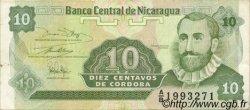 10 Centavos NICARAGUA  1991 P.169 SUP à SPL