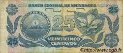 25 Centavos NICARAGUA  1991 P.170 pr.TTB