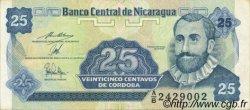 25 Centavos NICARAGUA  1991 P.170 SUP à SPL