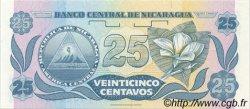 25 Centavos NICARAGUA  1991 P.170a NEUF