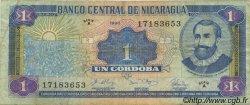 1 Cordoba NICARAGUA  1990 P.173 TB