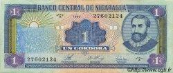 1 Cordoba NICARAGUA  1990 P.173 TTB