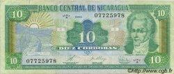 10 Cordobas NICARAGUA  1990 P.175 TTB