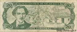 20 Cordobas NICARAGUA  1990 P.176 TTB
