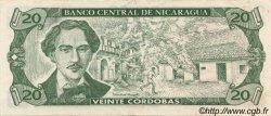 20 Cordobas NICARAGUA  1990 P.176 SUP+
