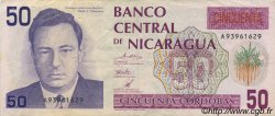 50 Cordobas NICARAGUA  1991 P.177 TTB