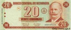 20 Cordobas NICARAGUA  2002 P.192 NEUF