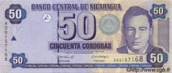 50 Cordobas NICARAGUA  2002 P.193 NEUF