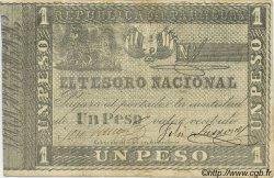 1 Peso PARAGUAY  1860 P.011 TB+