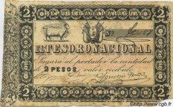 2 Pesos PARAGUAY  1860 P.012 TB