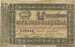 2 Pesos PARAGUAY  1860 P.012 B