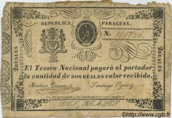2 Reales PARAGUAY  1865 P.019 TB
