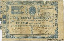 1 Peso PARAGUAY  1865 P.021 B