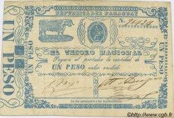 1 Peso PARAGUAY  1865 P.021 TTB