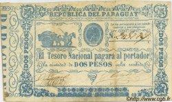 2 Pesos PARAGUAY  1865 P.022 pr.TTB