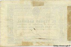 3 Pesos PARAGUAY  1865 P.027 TTB+