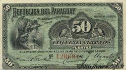 50 Centavos PARAGUAY  1907 P.115 SUP+