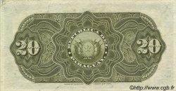 20 Pesos PARAGUAY  1907 P.120 SUP+