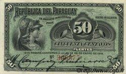 50 Centavos PARAGUAY  1916 P.137 SPL