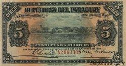 5 Pesos PARAGUAY  1920 P.143 SPL