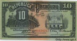 10 Pesos PARAGUAY  1920 P.144 SUP