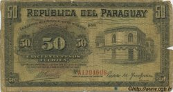 50 Pesos PARAGUAY  1923 P.151 AB