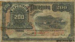 200 Pesos PARAGUAY  1923 P.153 B