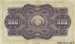 500 Pesos PARAGUAY  1923 P.154 TTB