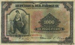 1000 Pesos PARAGUAY  1923 P.155 TB