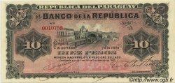 10 Pesos PARAGUAY  1907 P.157 pr.NEUF