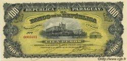 100 Pesos PARAGUAY  1907 P.159 SPL+