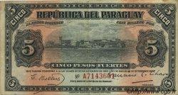 5 Pesos PARAGUAY  1923 P.163 pr.TTB