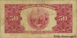 50 Pesos PARAGUAY  1923 P.166 pr.TB