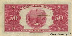 50 Pesos PARAGUAY  1923 P.166 TTB