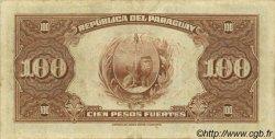 1 Guarani sur 100 Pesos PARAGUAY  1943 P.173a TTB+