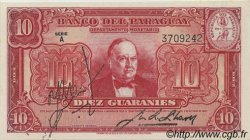 10 Guaranies PARAGUAY  1943 P.180 pr.NEUF
