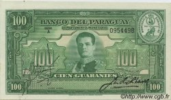 100 Guaranies PARAGUAY  1943 P.182 SPL+